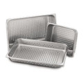 "Perforated pan, stainless steel, 18"" x 13"" x 2.5"""