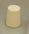 #2 solid rubber stopper