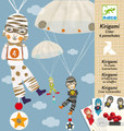 Kirigami Parachutes Boys Team by Djeco