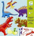 6 Jumping Jacks Dino by Djeco