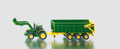 John Deere Tractor with Loader & Trailer by Siku