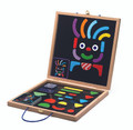 Geobonhomme Wooden Magnetic Board Boxed Set by Djeco