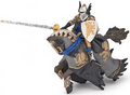 Dragon Black Prince and Horse Figure by Papo