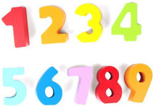 Numbers & Colours Qubes by Hape