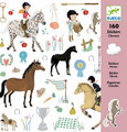 Horses Stickers by Djeco