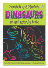 Scratch and Sketch Dinosaurs By Top That Publishing