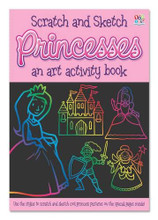 Scratch and Sketch Princesses By Top That Publishing