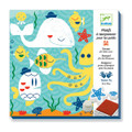 Beneath the Sea Stamp Motifs for Little Ones by Djeco