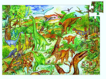 Dinosaurs Observation 100 Piece Jigsaw Puzzle by Djeco