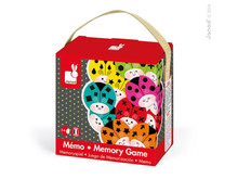 Cocccicolor Ladybird Memory Game by Janod