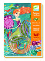 Mermaid Lights Glitter Boards Craft Kit by Deco