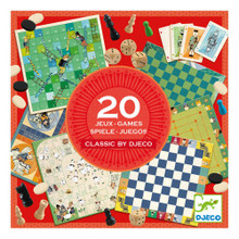 20 Games Classic Game by Djeco