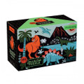 Glow in the Dark Dinosaurs 100 Piece Jigsaw Puzzle by Mudpuppy