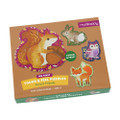 My First Touch & Feel Forest Friends Puzzles by Mudpuppy