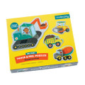 My First Touch & Feel Construction Puzzles by Mudpuppy