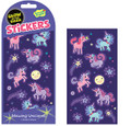 Unicorns Glow in the Dark Stickers by Peaceable Kingdom
