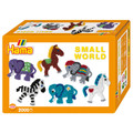Small World Horses and Elephants Midi Bead Kit by Hama