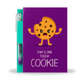 Cookie Sketch & Sniff Note Pad & Glitter Gel Pen by Scentco