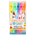 Sketch & Sniff Gel Crayons 5 Pack by Scentco