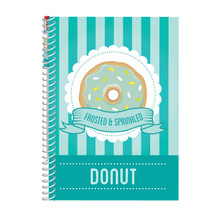 Donut A5 Sketch & Sniff Note Pad & Smencil by Scentco