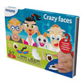 Crazy Faces On The Go Magnetic Travel Game by Miniland Educational
