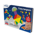 Crazy Tangram On The Go Magnetic Travel Game by Miniland Educational