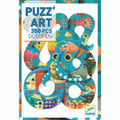 Puzz'art Octopus 350 Piece Jigsaw Puzzle by Djeco