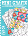 Floral Colouring Pictures Mini Grafic by Djeco