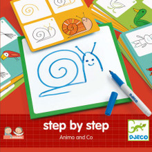 Step by Step Drawing Animo & Co by Djeco