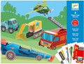 Trucks Paper Toys by Djeco