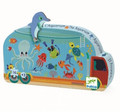 The Aquarium Truck 16 Piece Jigsaw Puzzle by Djeco