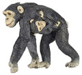 Chimpanzee & Baby Figure by Papo