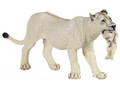 White Lioness with Cub Figure by Papo