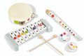 Wooden Confetti Percussion Set by Janod
