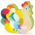 Raoul the Hen 24 Piece Jigsaw Puzzle by Djeco