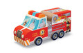 Fire Truck Puzzle & Play 24 Piece Jigsaw Puzzle by Crocodile Creek