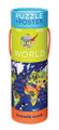 World Poster & 200 Piece Puzzle by Crocodile Creek