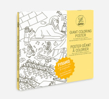 Giant Colouring Poster Pyramid by OMY