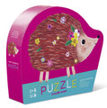 Happy Hedgehog 12 Piece Mini Shaped Puzzle by Crocodile Creek