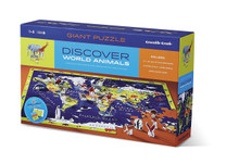 Discover the World Puzzle & Play 100 Piece Puzzle by Crocodile Creek