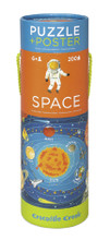 Space Poster & 200 Piece Puzzle by Crocodile Creek