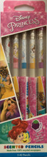 Disney Princess Smencils (Scented Pencils) 5 Pack by Scentco