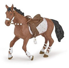 Winter Riding Girl's Horse Figure by Papo