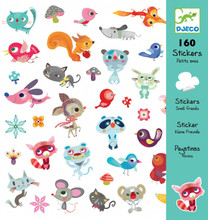 Small Friends Stickers by Djeco