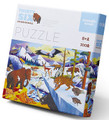 Thirty-Six Ice Age Animals 300 Piece Puzzle by Crocodile Creek