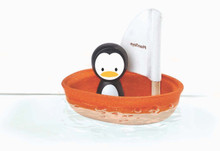 Sailing Boat - Penguin by Plan Toys