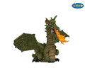 Green Winged Dragon with Flame Figure by Papo