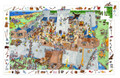 Fortified Castle Observation 100 Piece Jigsaw Puzzle by Djeco
