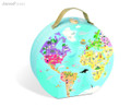 Blue Planet hat boxed double sided 208 piece jigsaw puzzle by Janod box