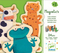 Wooden Magnetic Crazy Animals by Djeco